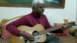 """""""Chingari Koi Bhadake"""" from Hindi Movie """"Amar Prem"""" - (Guitar Chords Version)"""