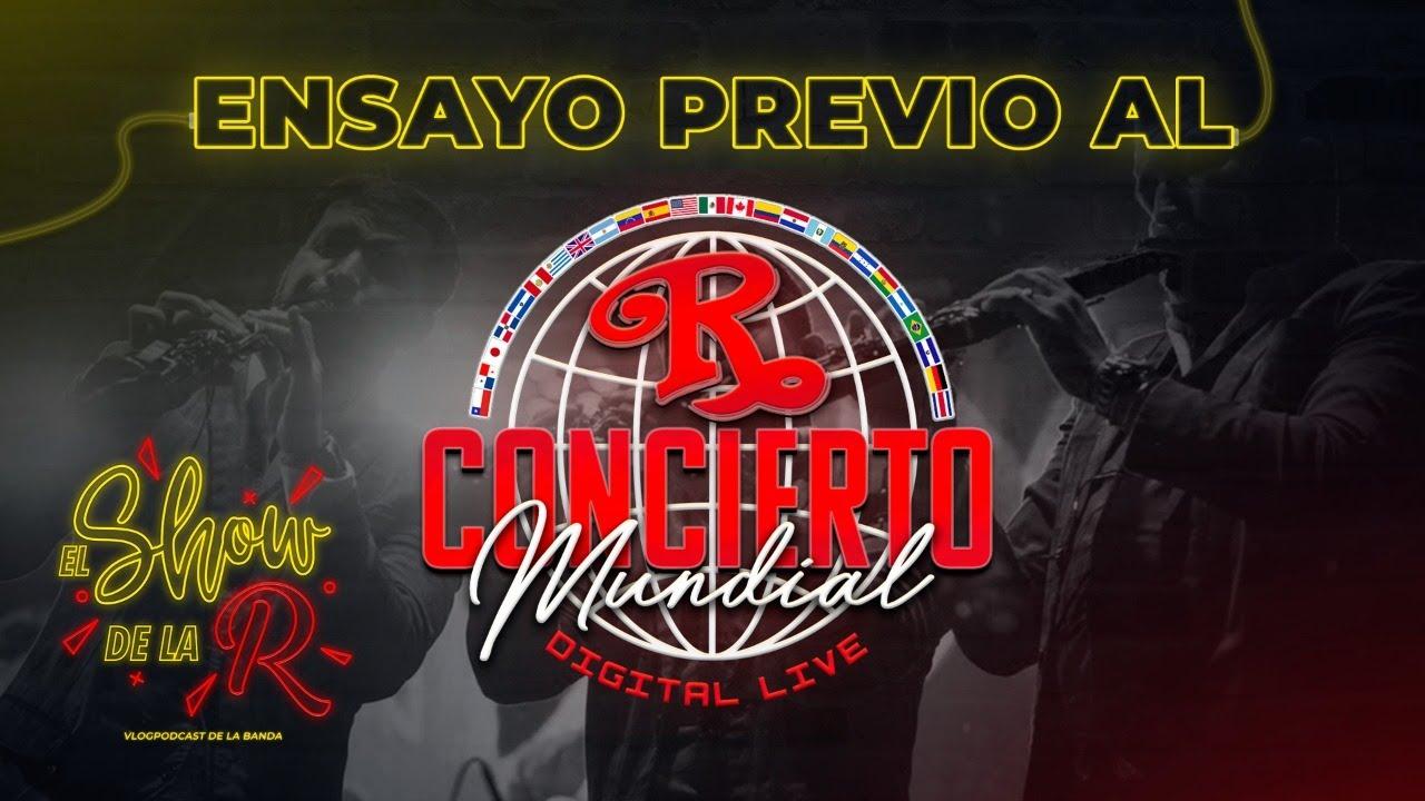 07 | ENSAYO PREVIO AL CONCIERTO MUNDIAL🌎🗺️ | EL SHOW DE LA R 🎪🤹🏻♂️