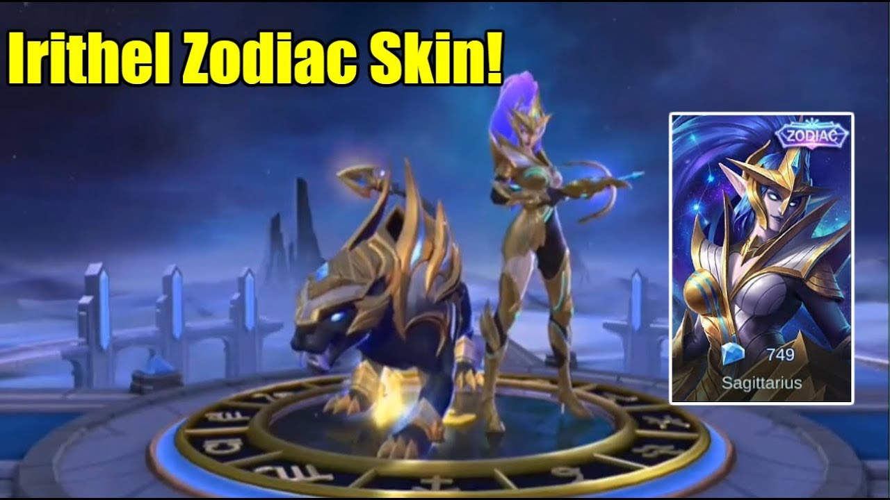 Mobile Legends IRITHEL ZODIAC SKIN SKIN ANIMATION
