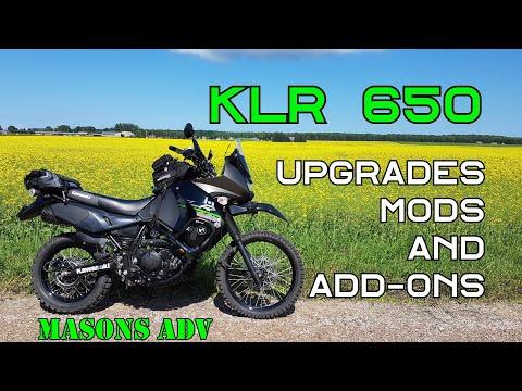 KAWASAKI KLR650 Upgrades & Mods  | Masons ADV |