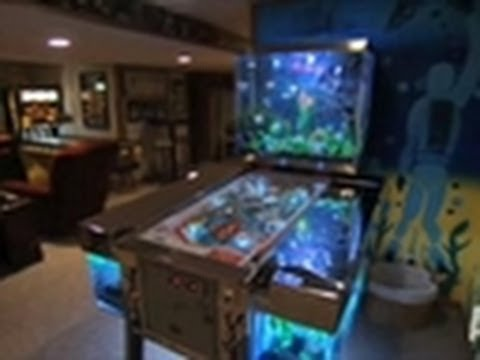Reveal pinball machine tank tanked youtube for Fish tank show