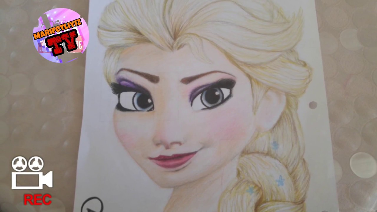 Frozen Elsa Cizim Youtube