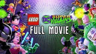 LEGO DC Super Villains (2018) FULL GAME MOVIE All Cutscenes @ 1080p HD ✔