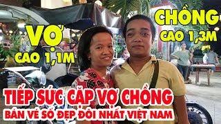Ước mơ có tiền về quê mở tạp hóa chăm mẹ già của 2 vợ chồng tí hon cao 1m1 ở Sài Gòn