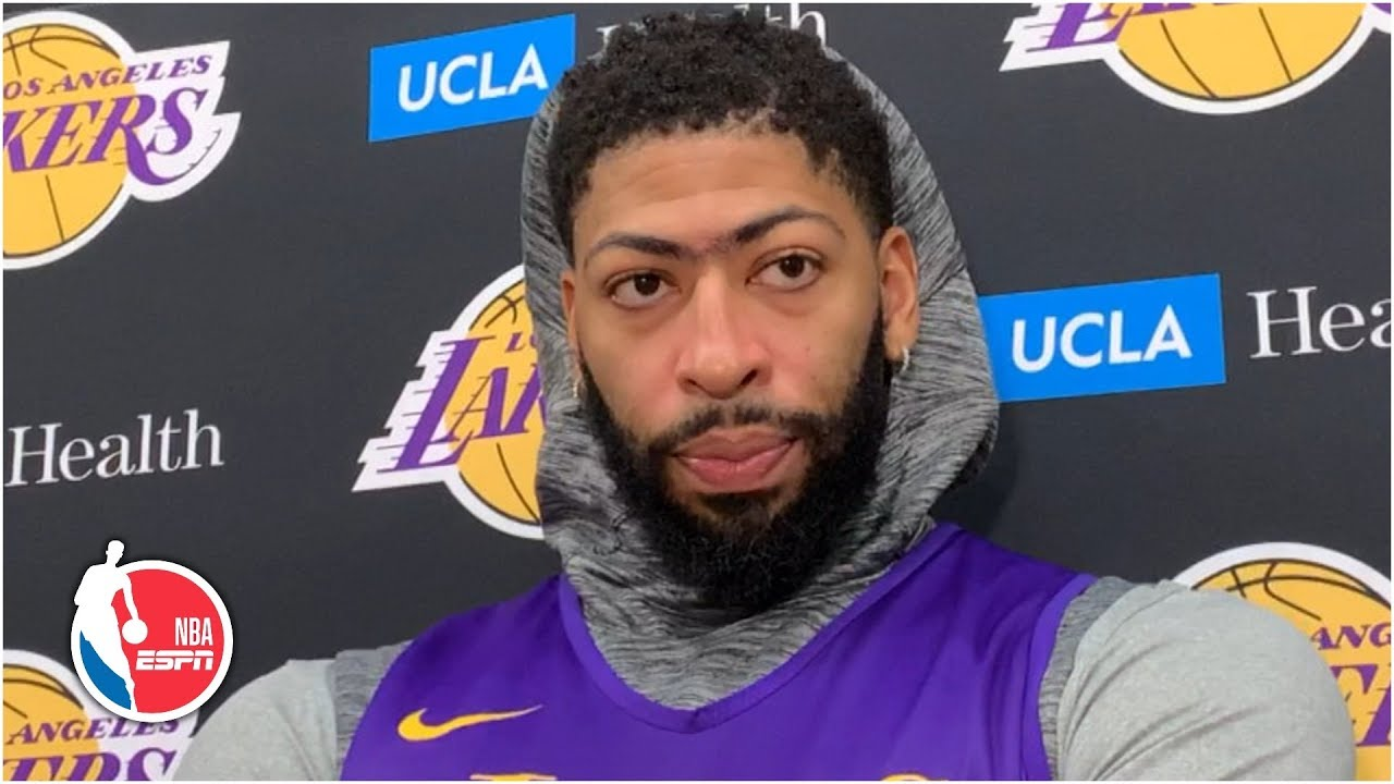 Los Angeles Lakers' Anthony Davis says he's being careful with ...