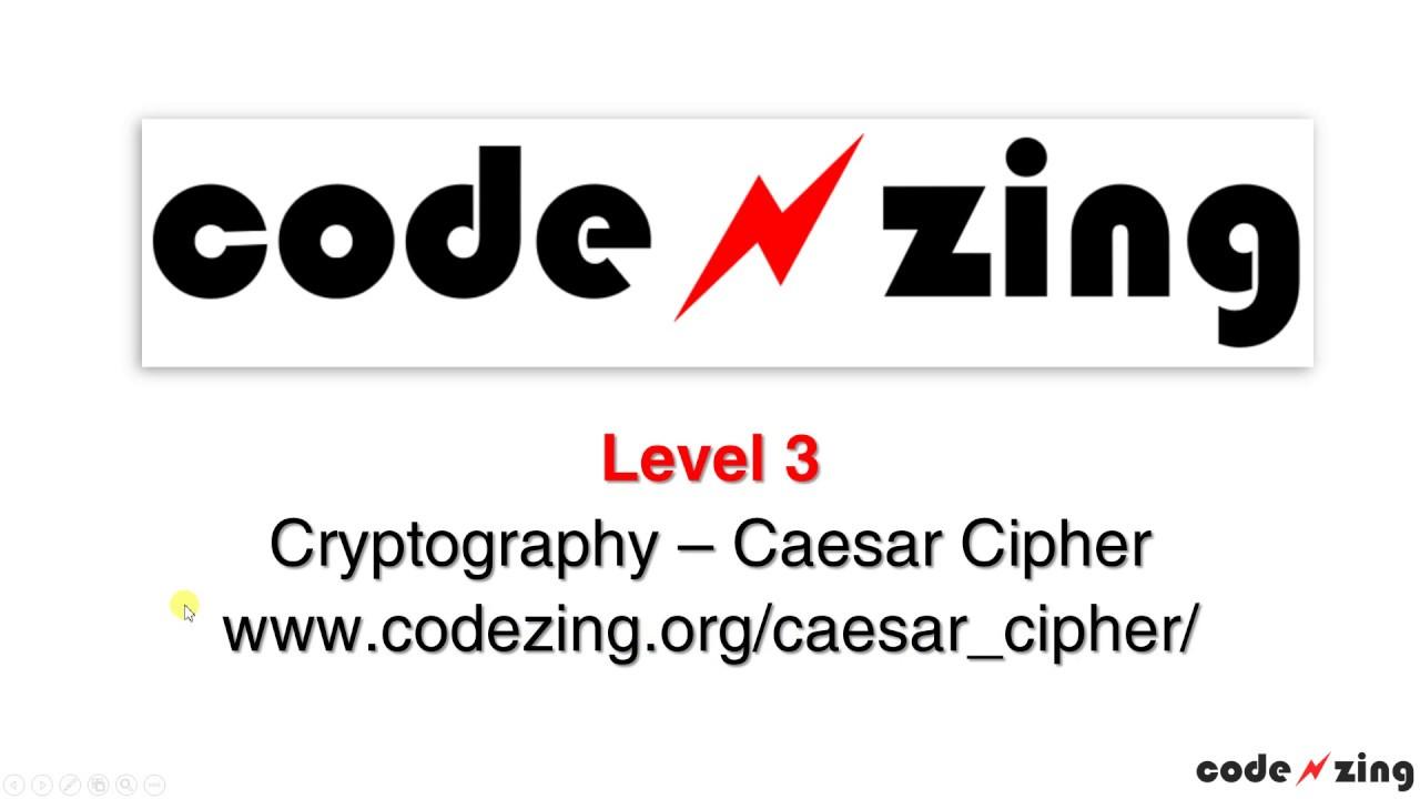 Caesar Cipher - Level 3
