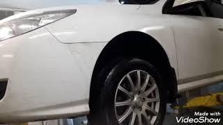 Замега гофры глушителя Renault Latitude