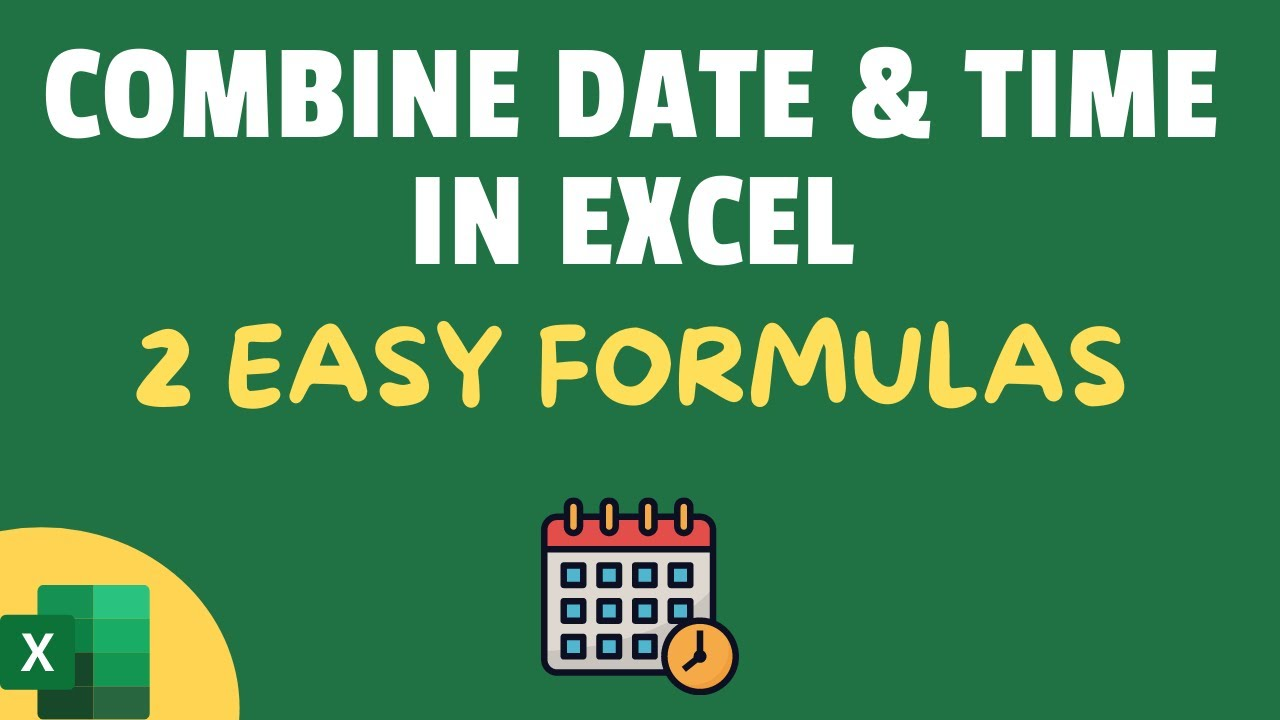 Combine Date and Text Formula | Combine Date and Time in One Cell | Concatenate Current Date & Text