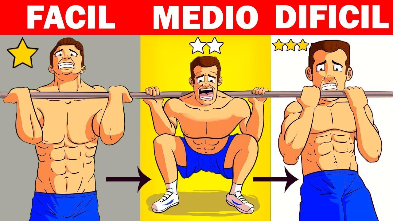 ✅ Los ÚNICOS 7 EJERCICIOS Que Los Hombres Necesitan Para Desarrollar Músculo