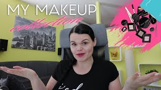 Moja make up zbirka/My Make Up Collection 2017