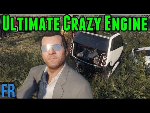 Ultimate Crazy Engine - Street Race Career #22 (Gta 5 Mods)