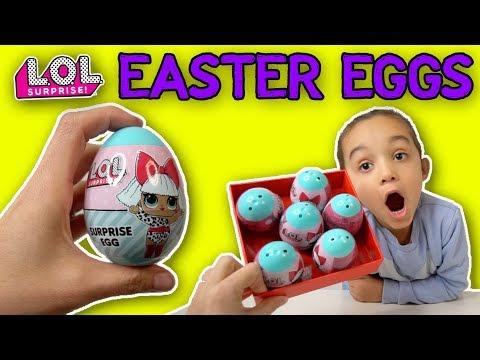 LOL SURPRISE EASTER EGGS 2019 | LOL DOLL SURPRISE EGGS FOR KIDS