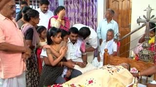 Funeral Service : Mr Baby Thomas (62) Adoor (kilivayal) Home Service - Part-1