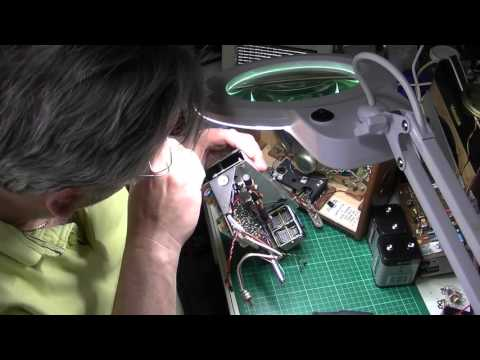 Hacker Hunter VHF RP38a Part 3: Volume control. Clean, repair or replace?