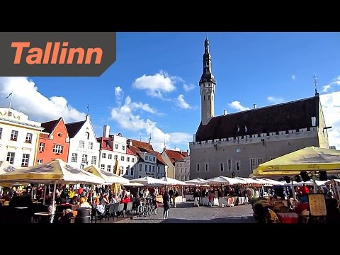 Tallinn Estonia - HD Video Tour of the City
