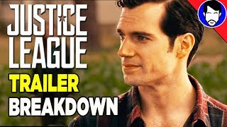 Justice league trailer breakdown (official heroes trailer) - justice league explained