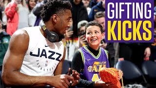 LeBron, Westbrook, Donovan Mitchell among NBA stars giving away sneakers to fans | Kicks on ESPN