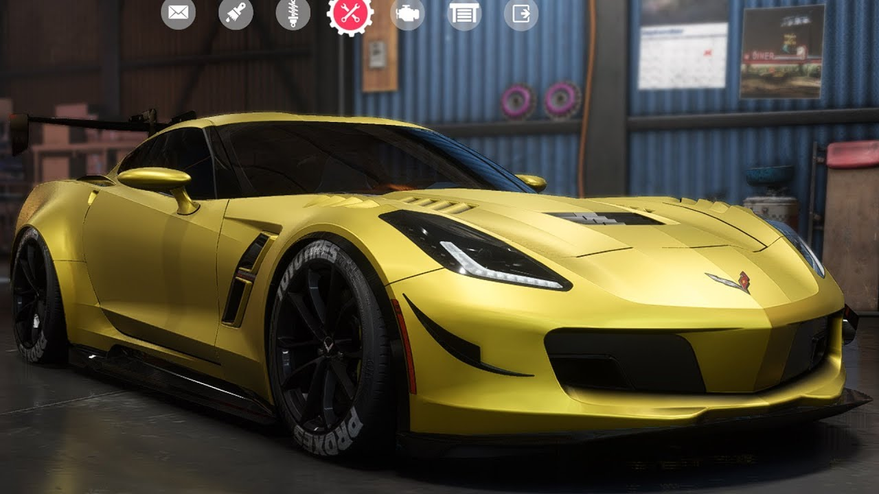 Need For Speed Payback Chevrolet Corvette Grand Sport Customize Tuning Car Hd Youtube