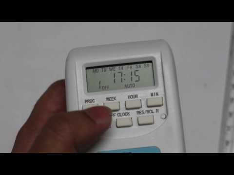 Programmable Plug-in Digital Timer Switch