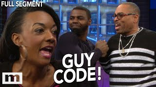 Is 60 sexy? He's got a senior citizen as a wingman! | The Maury Show