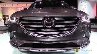 2016 Mazda CX9 - Exterior and Interior Walkaround - 2016 Detroit Auto Show