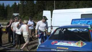 Jari-Matti Latvala Lahti Historic Rally 2010