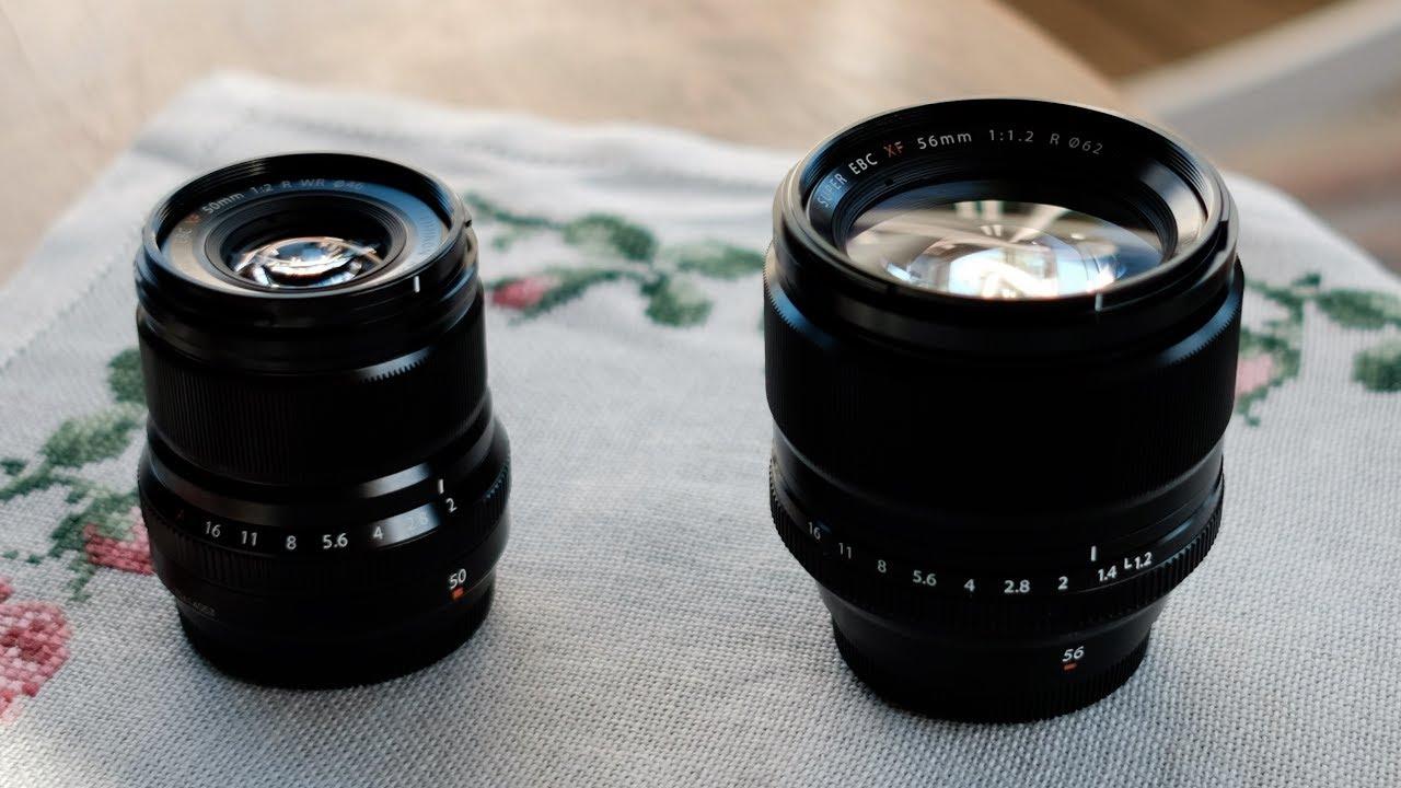 Fujifilm Xf 50mm F20 Wr Vs 56mm F12 Youtube Fujinon Xf56mm F 12 R