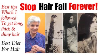 How to Stop Hair Fall Naturally | Best food for Hair Growth | Tips for Men & Women | In Hindi