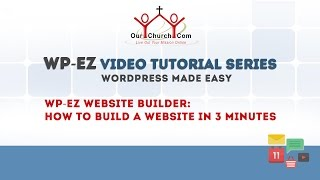 WP-EZ Website Builder: How to Build a Website in 3 Minutes