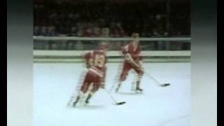 Olympics 1968 Hockey. USSR-Czechoslovakia