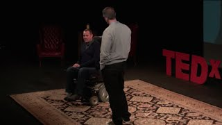 500 miles, Two Best Friends, and One Wheelchair | Justin Skeesuck & Patrick Gray | TEDxBoise