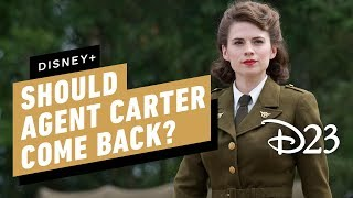 Hayley Atwell on Whether Agent Carter Should Come Back on Disney+ - D23 2019
