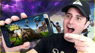 Fortnite on Mobile!!! - iOS & Android - How to Download