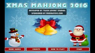 02 - XMas Mahjong 2016 - WHERE IS THE MUSIC....Aaaa...there it is.