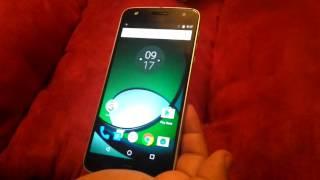 Motorola Moto Z Play - Accesorios y Funciones Básicas.