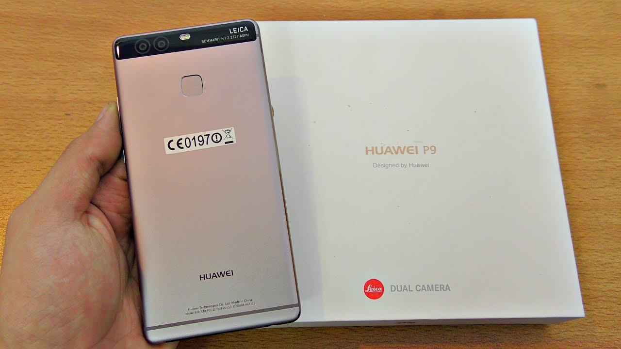 Huawei p9 unboxing setup first look 4k youtube ccuart Images