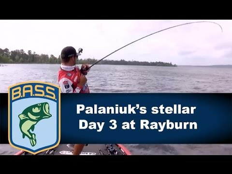 Brandon Palaniuk's charge to the lead on Sam Rayburn