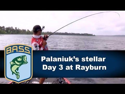 Brandon Palaniuk's charge to the lead on Sam Rayburn