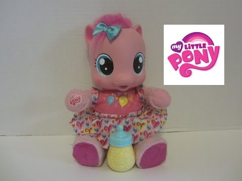 Mlp My Little Pony Walking And Talking Baby Pinkie Pie