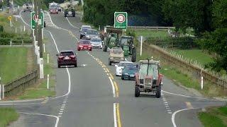 NZ Tractor Trek 2016, Wakefield, Farmlands Richmond, Nelson