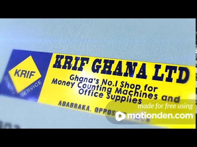 KRIF Ghana Logo