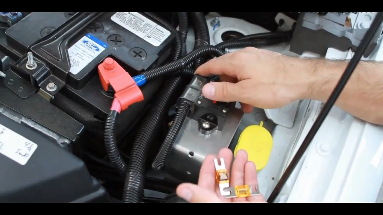 How To Troubleshoot Dead Sub Amplifier Car Audio Youtube 2011 Ford Edge Fuse Box Location