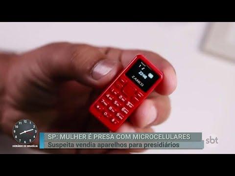 Mulher suspeita de vender celulares para presidiários é presa em SP | Primeiro Impacto (28/06/18)