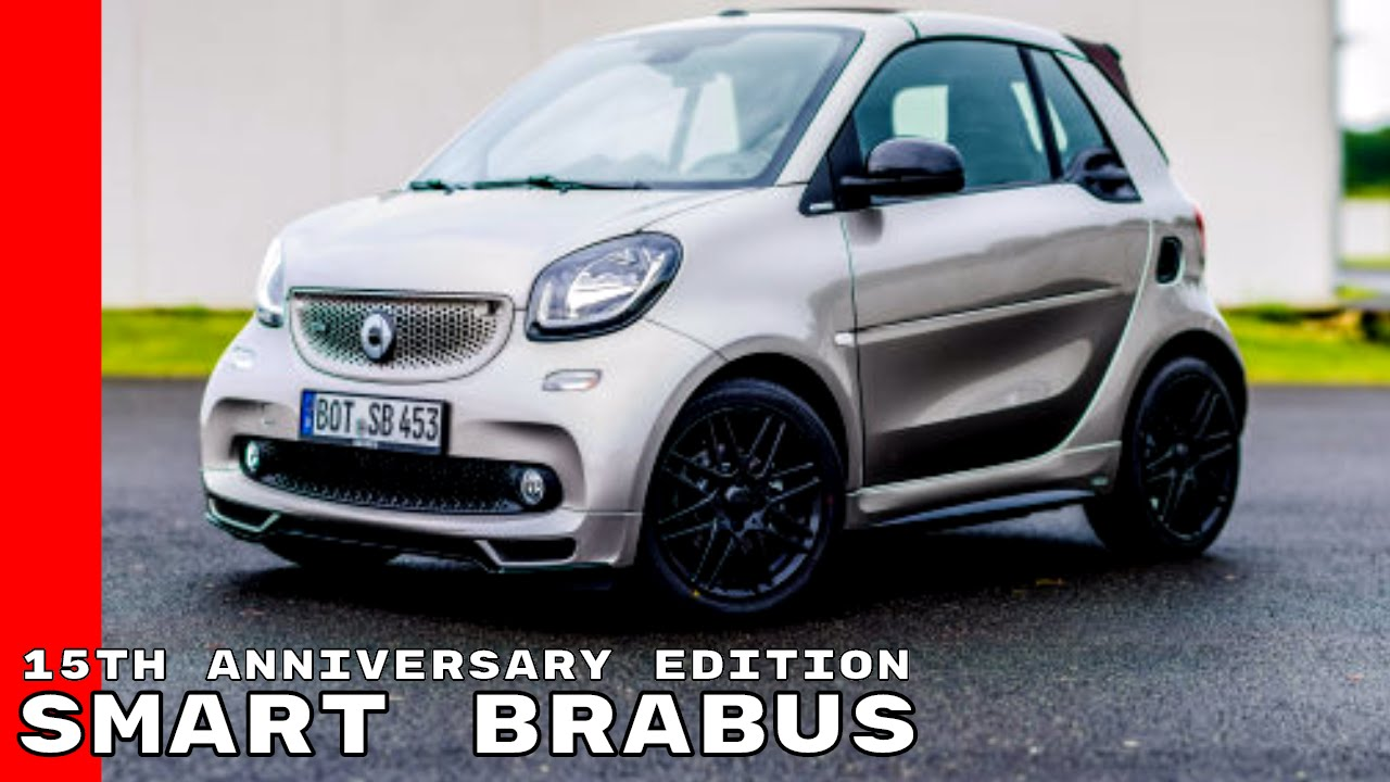Favori 2018 Smart BRABUS 15th Anniversary Edition Review - YouTube TU72