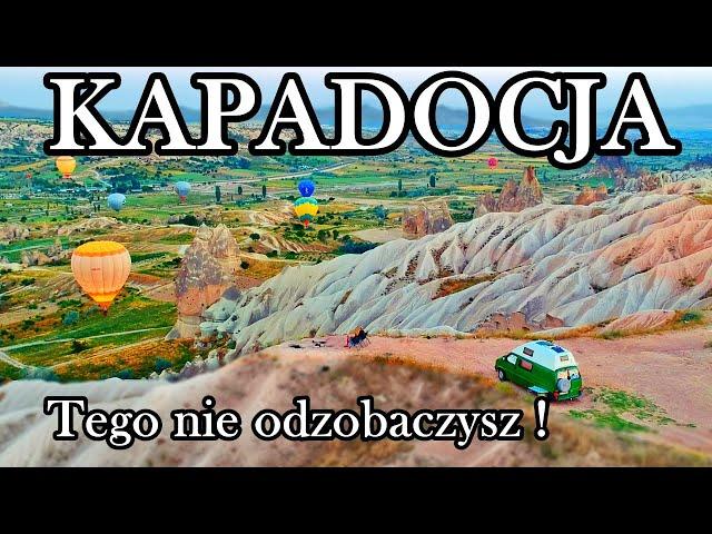 Nie sądziliśmy, że po pół roku w Turcji jeszcze coś nas tak zachwyci ! Cudowna Cappadocia (vlog 106)
