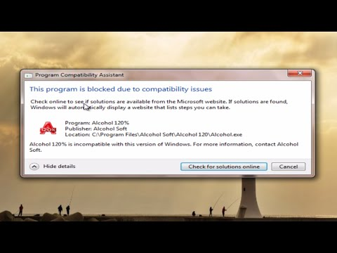 This program is blocked due to compatibility issues