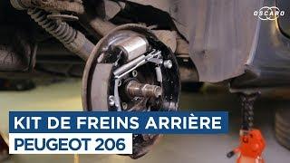 Comment changer le kit de frein arrière - Peugeot 206
