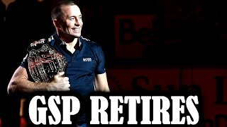 gsp finally retiresbut what about the khabib fight