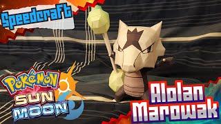 Pokemon Sun & Moon Papercraft ~ Alolan Marowak ~