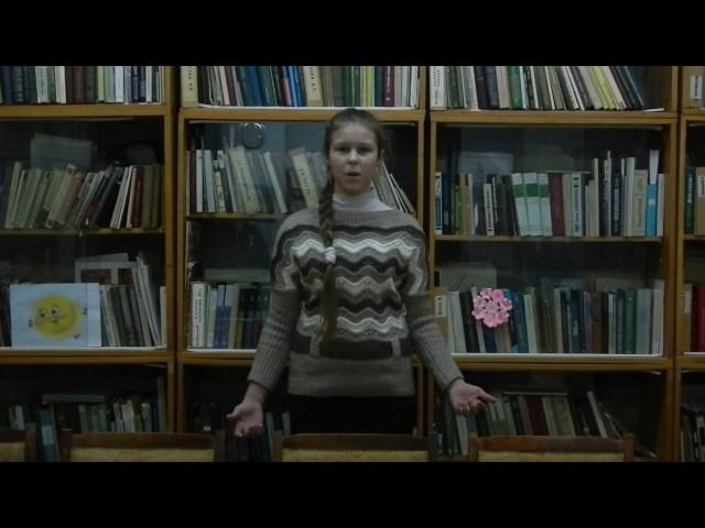 Изображение предпросмотра прочтения – ЕкатеринаОбухова читает произведение «К людям» К.Д.Бальмонта